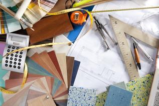Architect or interior designer workplace