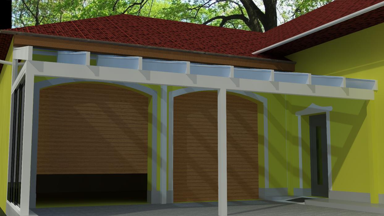 Visualisierung Carport
