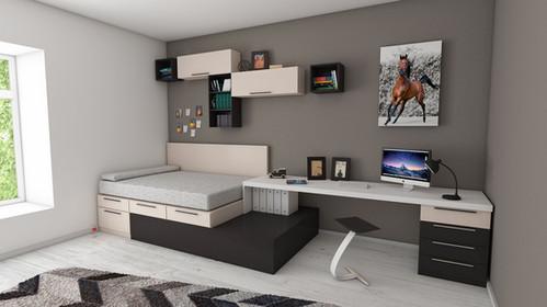 Jugendzimmer modern planen