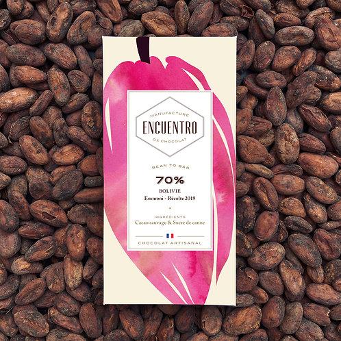 70% Bolivie - Cacao Sauvage