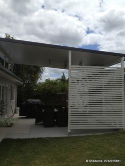 Aluminium Slat Pergola Screen