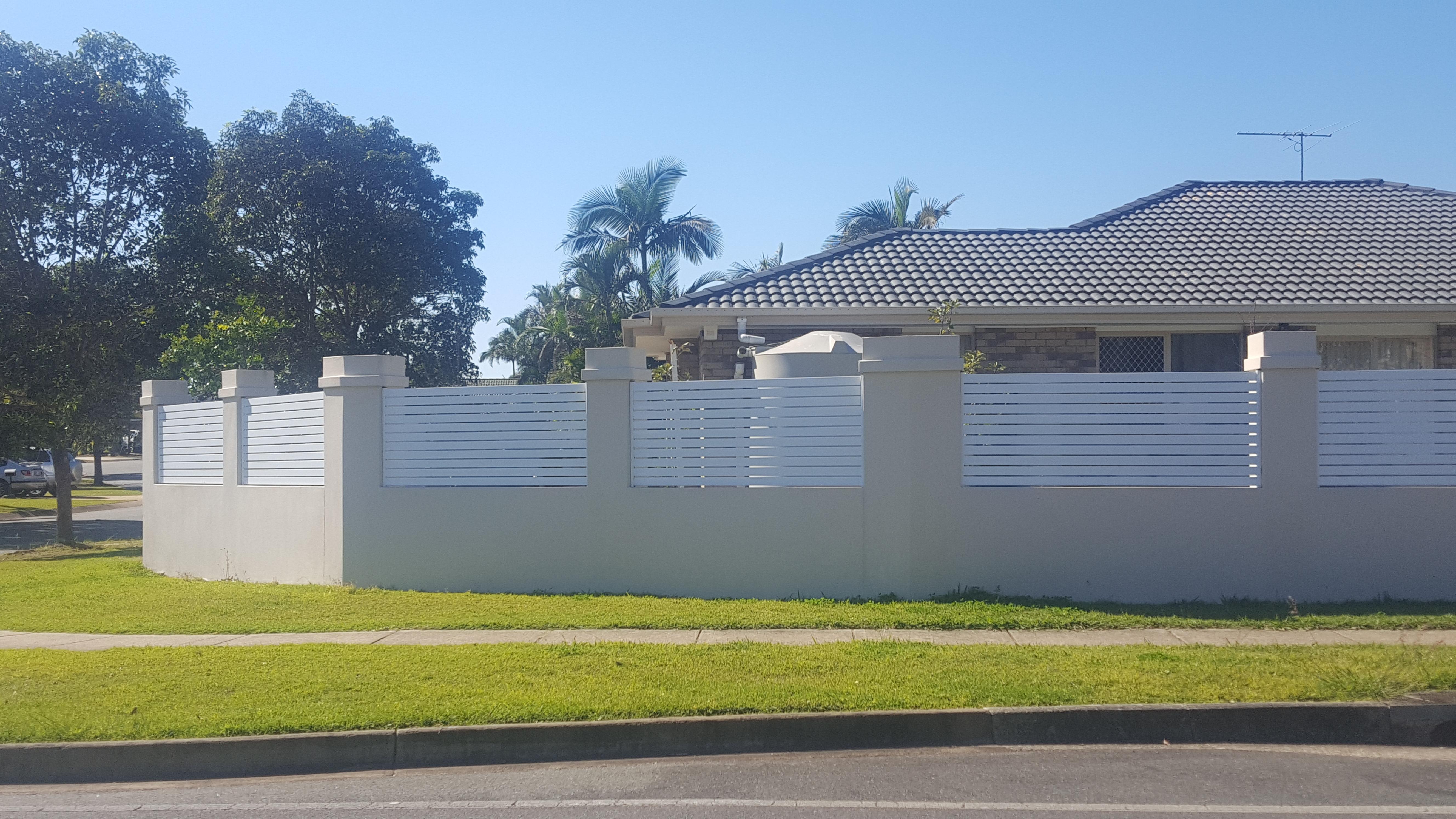 Aluminium Slat Fence Infill Panels