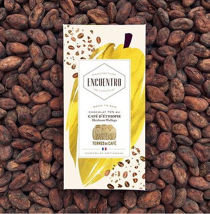 Tablette au Café - Terres de café