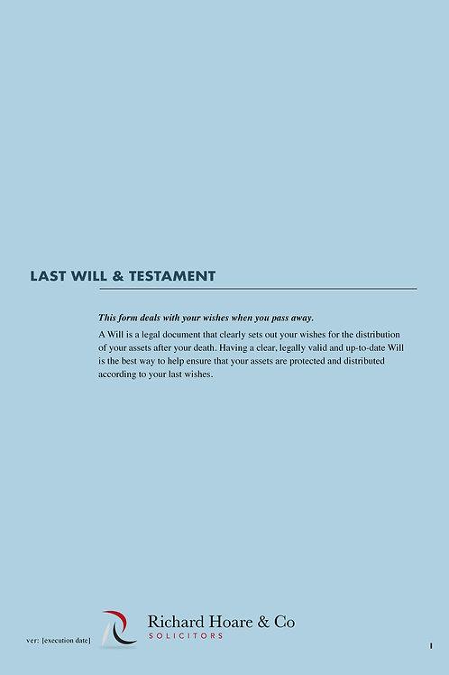 Will & Testament (Basic)