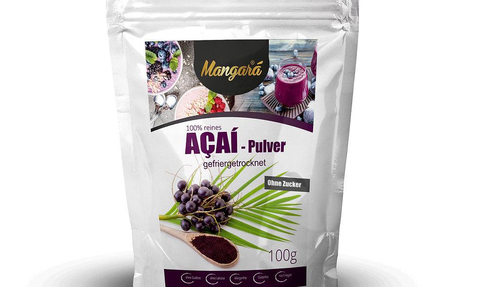 Mangara® 100g natürliches Açaí-Pulver