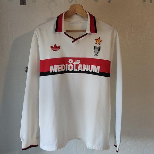 AC Milan 90/91 Away LS - Size L