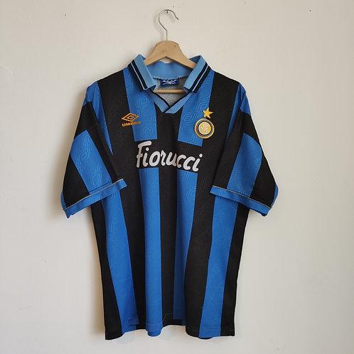 Inter Milan 94/95 Home - Size L