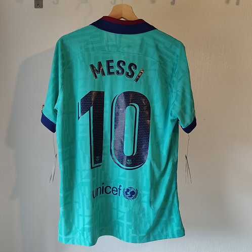 BNWT Barcelona 19/20 Third - Messi 10 - Size L