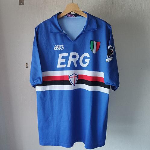Sampdoria 91/92 Home - Size XL