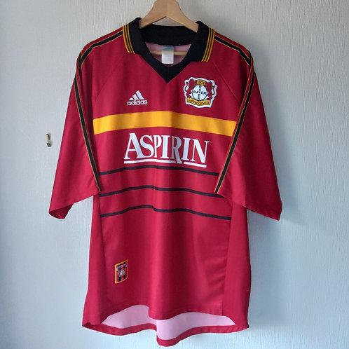 Bayer Leverkusen 98/99 Home - Size XL