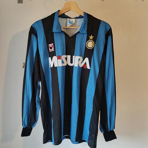 Inter Milan 89/90 Home LS - Size L
