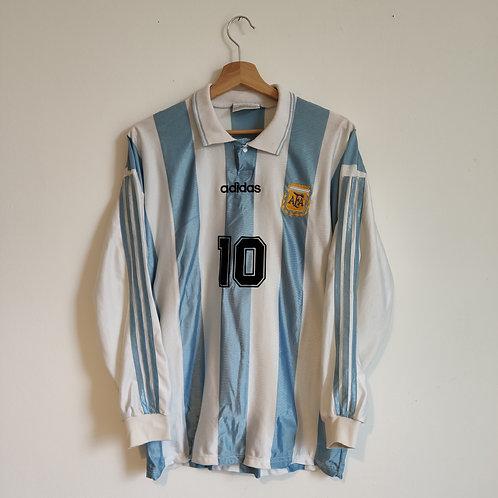 Argentina 1994 Home - Maradona 10 - Size M