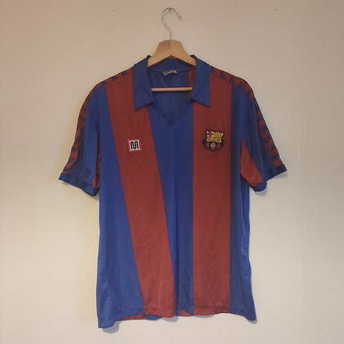 Barcelona 84-89 Home - Size XL (Fits smaller)
