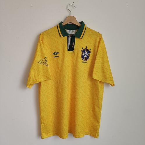 Brazil 1992 Home - Size XL