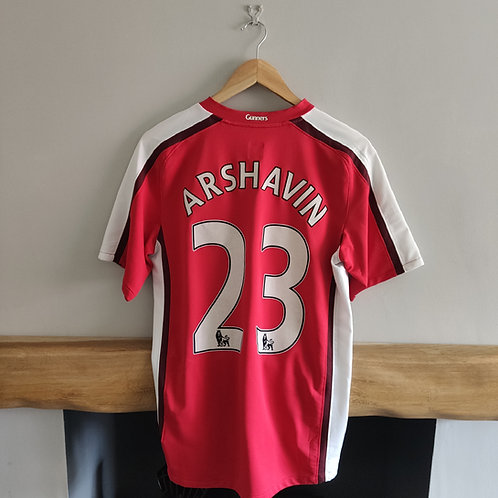 Arsenal 08-10 Home Shirt - Arshavin #23 - Size S