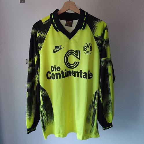 Borussia Dortmund 92/93 Home Longsleeve - Size L