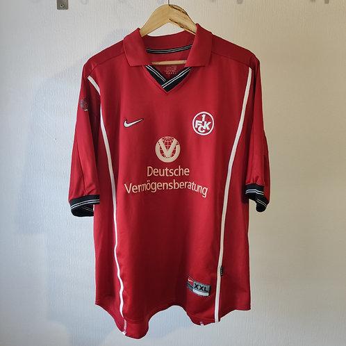 Kaiserslautern 99/00 Home - Djorkaeff 14 - Size XXL
