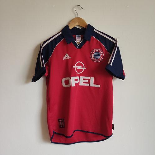 Bayern Munich 99-01 Home - Santa Cruz - Size YXL