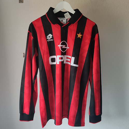 AC Milan Player Issue 95/96 Home - Size L