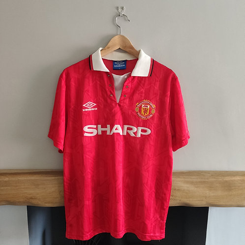 Manchester United 92-94 Home Shirt - Size M