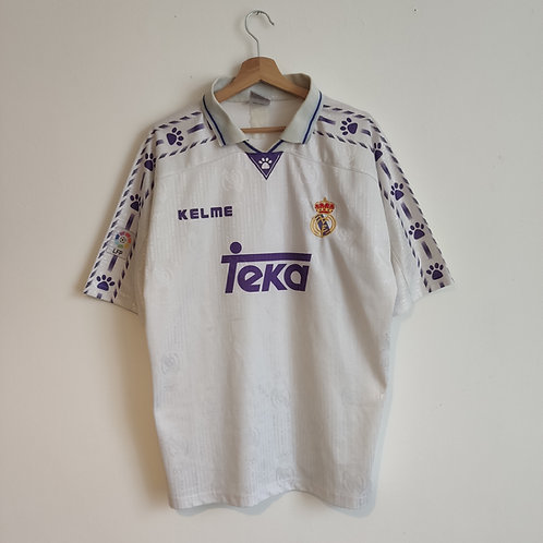 Real Madrid 96/97 Home - Size L/XL