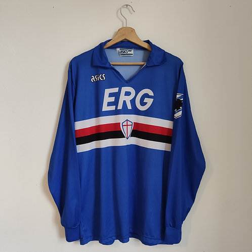 Sampdoria 90/91 Home LS - Size XL