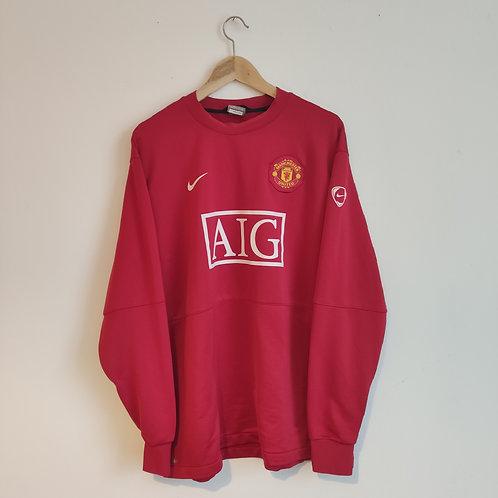 Manchester United Training Jumper - Size XXL