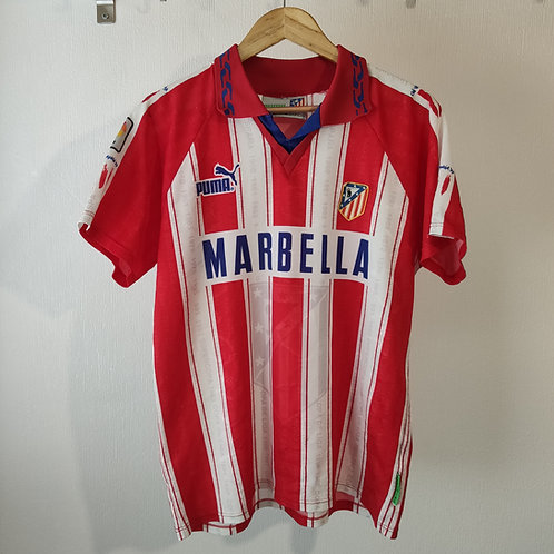 Atletico Madrid 95/96 Home - Size M