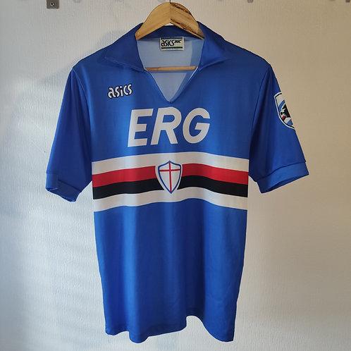 Sampdoria 90/91 Home - Size M