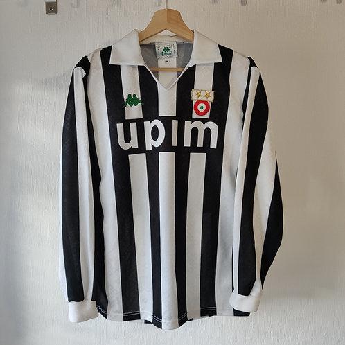 Juventus Player Spec 90/91 Home LS - Size M