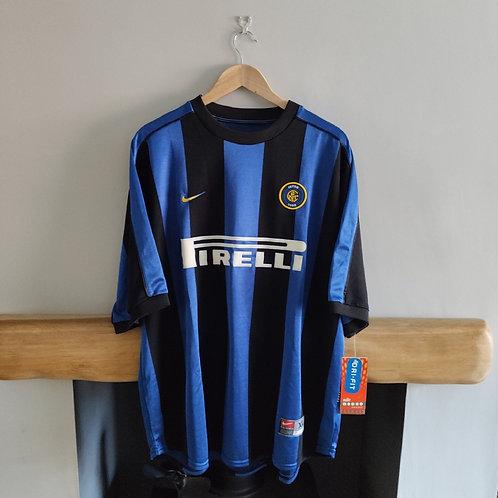 BNWT Inter Milan 99/00 Home Shirt - Size XL