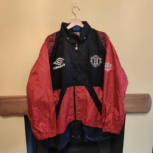 Manchester United Training Jacket - Size XL (tagged M)