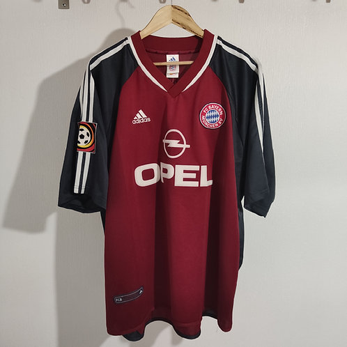 Bayern Munich 01/02 Home - Kuffour 4 - Size XXL