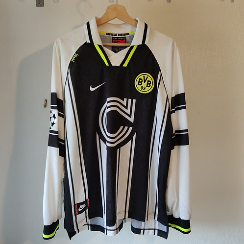 Dortmund 96/97 CL Away LS #10 - Size XL