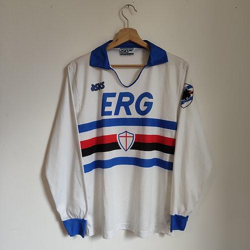 Sampdoria 90/91 Away LS - Size M