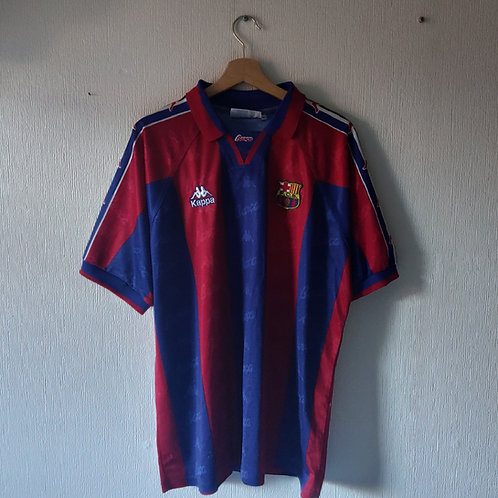Barcelona 95-97 Home - Size XL