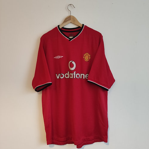 Manchester United 00-02 Home - Size XL
