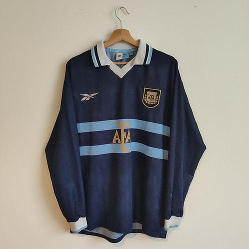 Argentina 99-01 Away LS - Size L