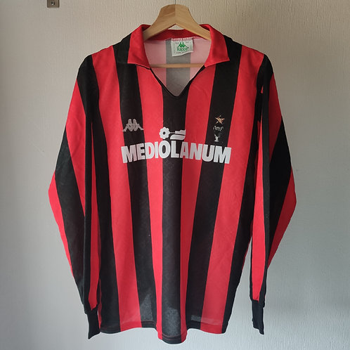 AC Milan Player Issue 89/90 Home - Size M/L