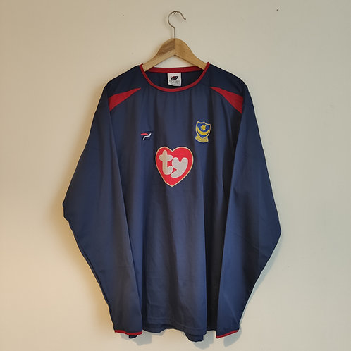 Portsmouth 03/04 Away long sleeve - Size XL