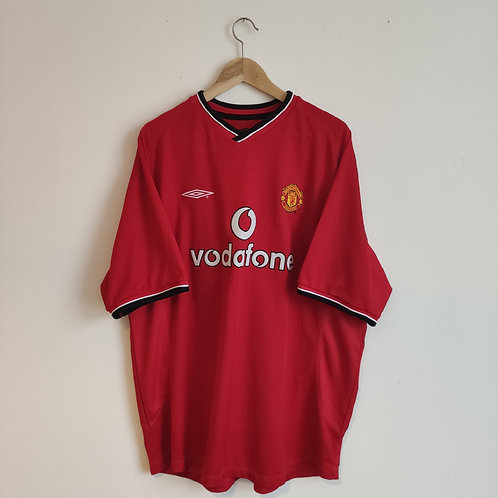 Manchester United 00-02 Home - Keane 16 - Size XXL