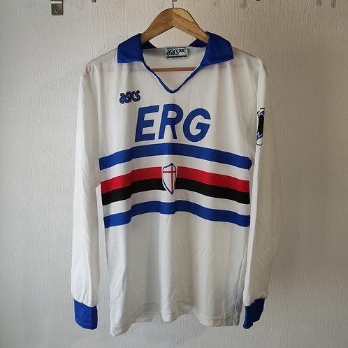 Sampdoria 90/91 Away - Size L