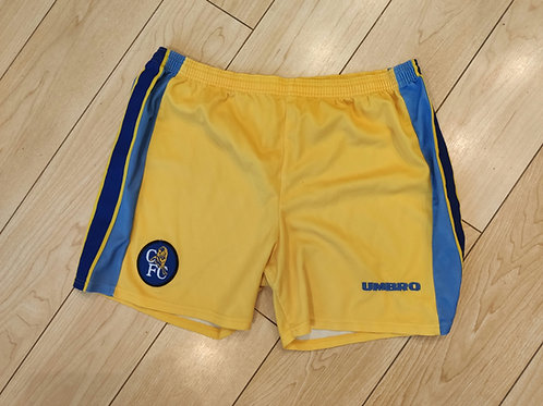 Chelsea 96/97 Away Shorts - Size L