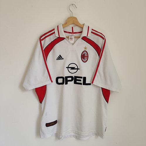 AC Milan 01/02 Away - Size XL