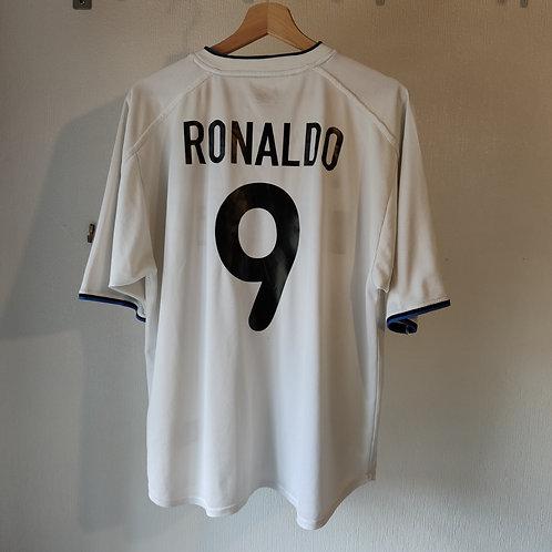 Inter Milan 00/01 Away - Ronaldo 9 - Size L