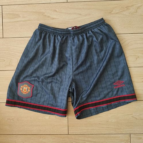 Manchester United 95/96 Away Shorts - Size S