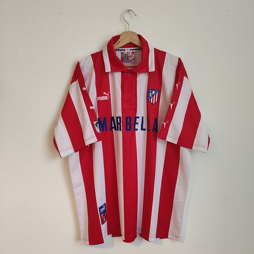 Atletico Madrid 97/98 Home - Size XL