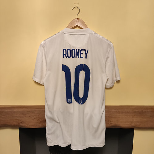 """England 2014 Home Shirt """"Rooney 10"""" - Size M"""