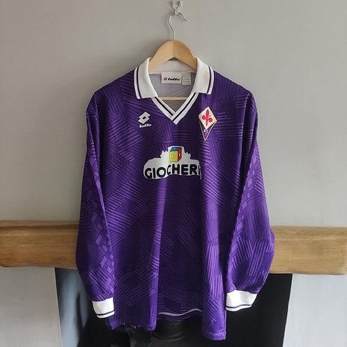 Fiorentina 91/92 Home Shirt - Size XL
