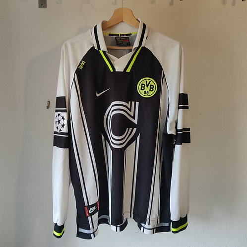 Dortmund 96/97 CL Away LS #13 - Size XXL